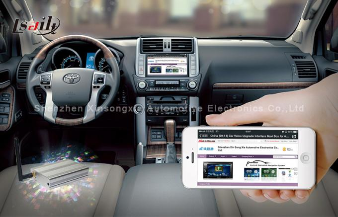 Auto Sync Smart Phone Android Video Interface GPS Navigation In Car Entertainment