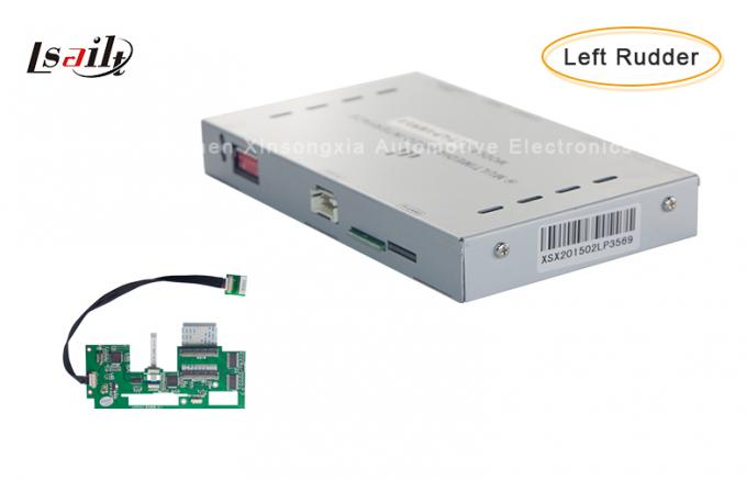 Left-Hand Drive Car Video Interface with Navigation System for Fit  for OEM Car with LED Screen