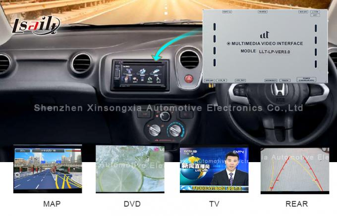 Auto Honda Video Interface GPS Navi For Jade Right-Hand Driving , Car DVD Player for Honda