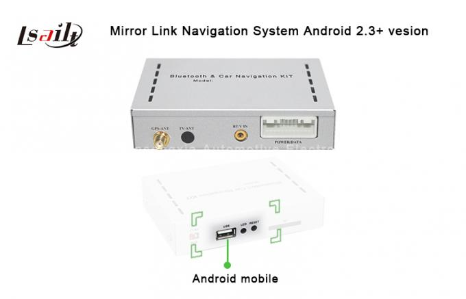 USB Mirroring System for Pilips with New In-car Entertainment for Android / IOS  Connectivity