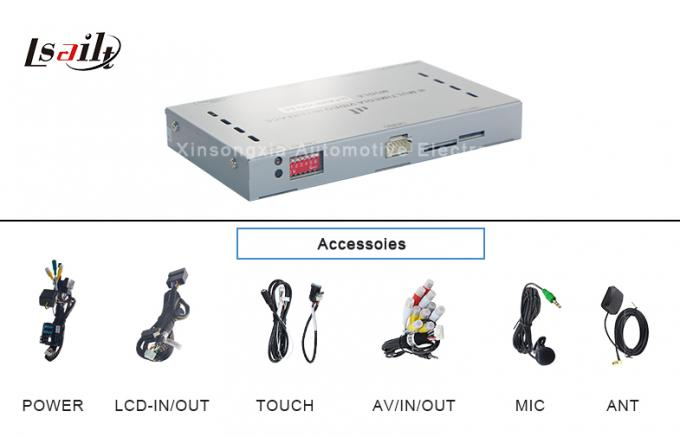 All In One NISSAN Multimedia Interface Car Navigation Box 256MB RAM For A4l A5 Q5