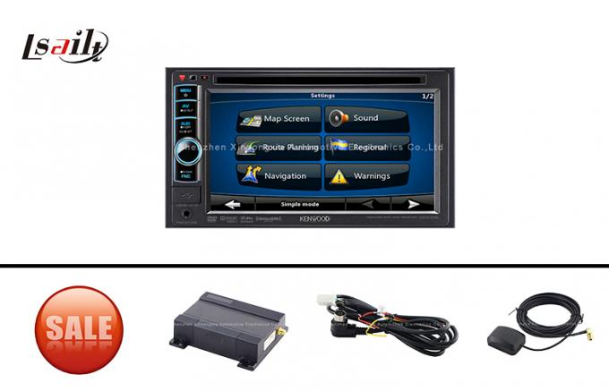 GPS Navigation Module Upgrade Kit for Kenwood DVD Player - 5025DAB / 5025BT / 4025 / 3025