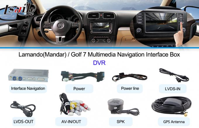 10~ Touareg Car Multimedia Navigation System with Back-up Camera in Wince 6.0