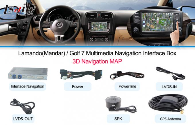 Android Car Multimedia Navigation System Can Add-on 360 Panoramic for 10-15 Touareg