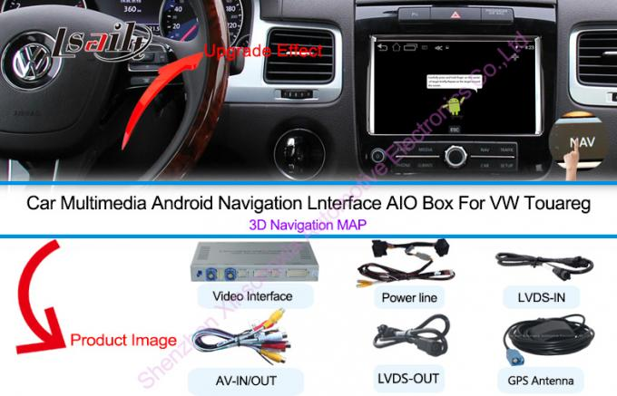 Android 6.0 6.5' VW Touareg Android Auto Interface Touch Android Navigation System