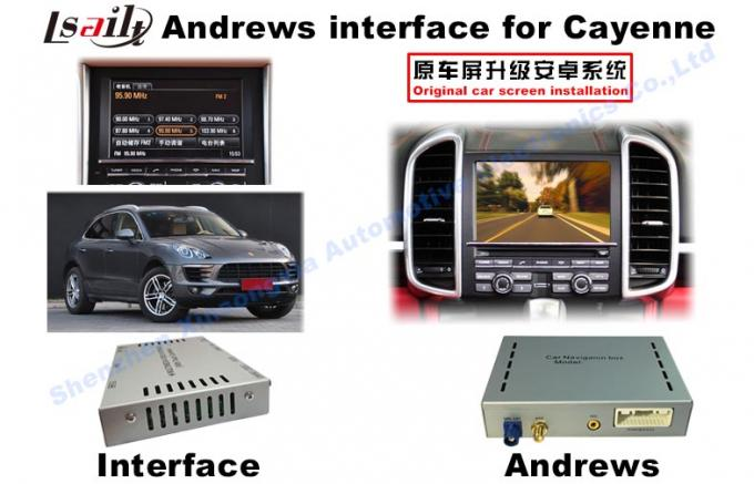 Android System Navigation Video Interface For 2015 Porsche PCM 3.1