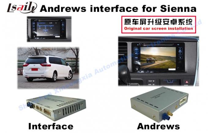 Sienna  Android Auto Interface 3 - Road Navigation Video Interface