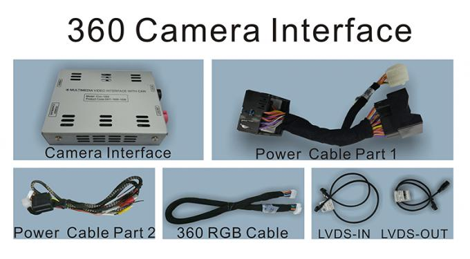 2014-2017 Passat, Golf7 and Audi A3 Rear View Parking Track Camera Interface