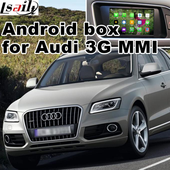 Audi Q5 3G MMI video Android navigation box video interface