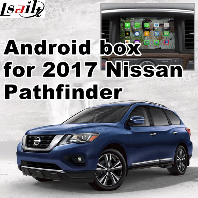 Nissan Pathfinder Andorid Car Multimedia Navigation System , Online Navigation Video Play