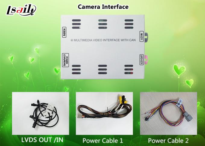 Tourage HD 360 Degree Reverse Camera / Rearview Camera Interface support Front camera , Mobile phone Mirrorlink Optional