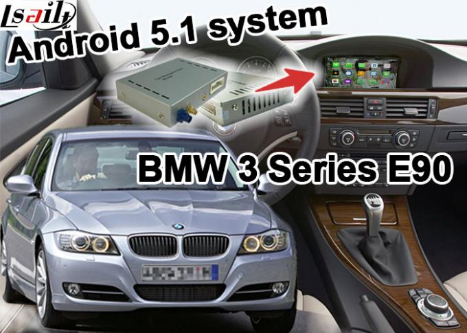 BMW E90 3 series CIC system Vehicle DVD Players , Mirror