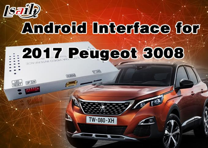 1.6Ghz 4-Core Android 6.0 Navigation GPS Multimedia System for Peugeot 2008 / 208 / 408 / 508 Support Mirrorlink
