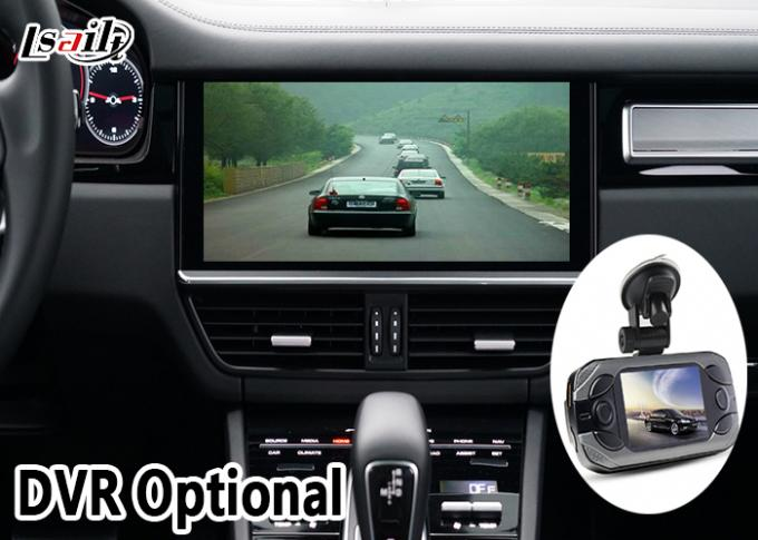 Porsche 360 Camera Multimedia Backup Camera Interface With Driving Video Recording Functions