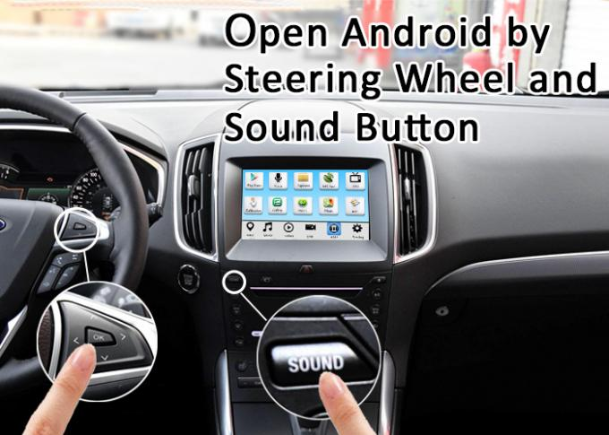 Android Ford Navigation interface for Ecosport Fiesta Focus Kuga support carplay , android auto , index , netflix