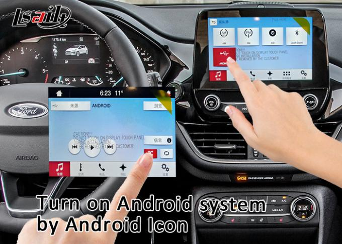 Android 7.1 Auto Interface for Edge 2016-2019 support 3D panorama cameras , YouTube , mirrorlink smartphone