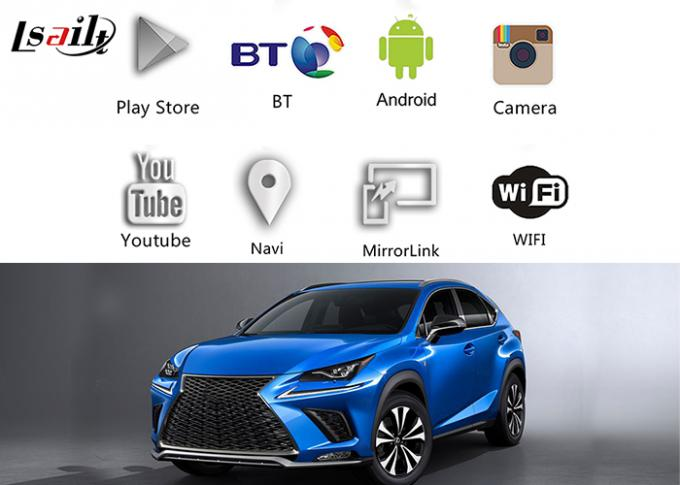 Android 6.0 Navigation Box Car Navigation Box For Lexus 2013-2018 NX / RX