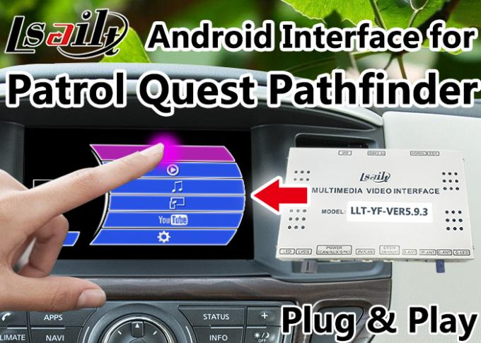 GPS Navigation Android Auto Interface Support Voice