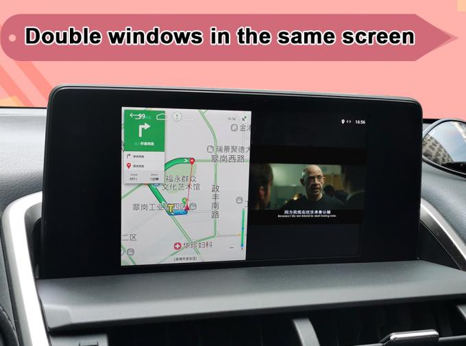 Android 7.1 Car Video Interface Touch Pad Control For 2013-18 Lexus ES GS IS LX NX RX