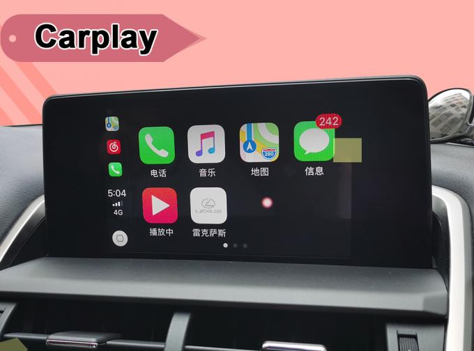 Android 7.1 Auto Interface for 2013-18 Lexus ES GS IS LX NX RX etc. video Interface with mouse , touch-pad control
