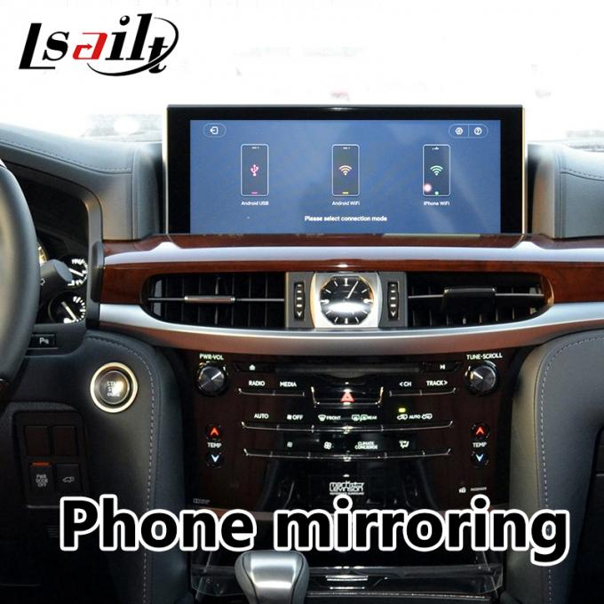 Android car navigation for LEXUS LX570 2013-2019 Android video Interface support YouTube, Android Auto by Lsailt