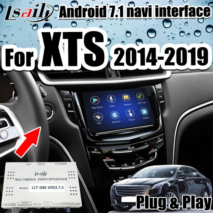Six-core Android Auto Interface GPS Navigation for Cadillac