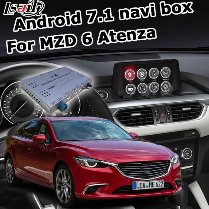 Mazda 6 Atenza GPS Navigation Box video interface optional carplay interface android auto