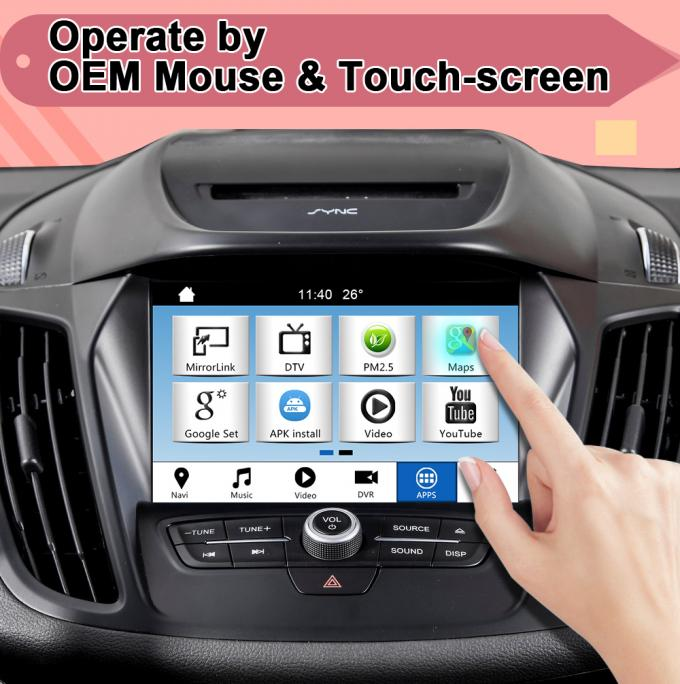 Android 7.1/ 9.0 Ford Navigation interface for Taurus 2016-2020 Sync3 support Play store, spotify, Youtube