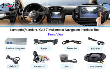 China WIFI / Reversing Assist  Vehicle Navigation Systems for 10-15 Touareg , Car Navigation DVD supplier