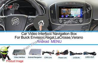 China WIFI / TMC Android Car Interface Multimedia Navigation System For Buick 800 * 480 supplier