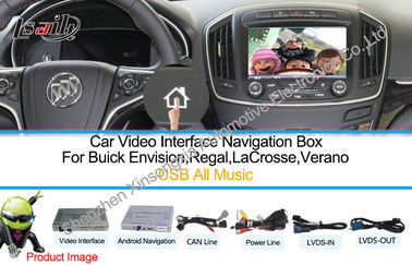 China HD 1080P Car Multimedia Navigation System With WIFI Network TMC supplier