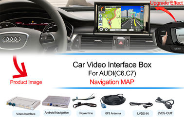 China AUDI Navigation Systems Support WIFI / Google MAP Android 4.4 supplier