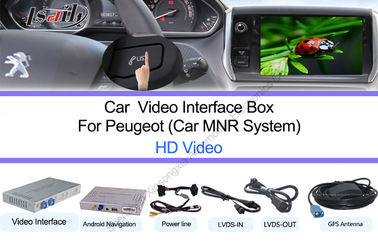 China Peugeot Google Navigation System HD 1080P Touchscreen Control supplier