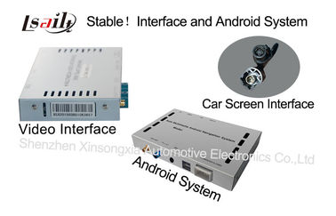 China Android Navigation Video Interface Upgrade Internet , Online Map Music Movie , 3G WCDMA supplier