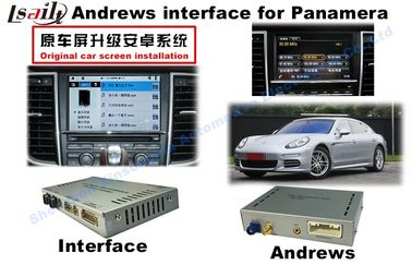 China Porsche PCM 3.1 Android Auto Interface With Rear Camera / DVD supplier