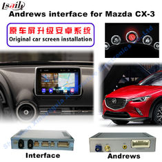 China 2016 Mazda Navigation Video Interface CX -3 TV DVD REAR DVR supplier