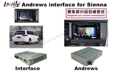China Sienna  Android Auto Interface 3 - Road Navigation Video Interface supplier