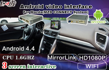 China Quad Core Android Auto Interface For Mazda2 3 6 Cx -3 Cx -5 Support Apps Download supplier