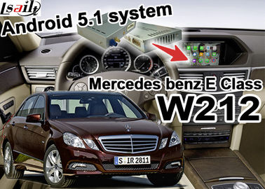 China Android GPS Car Multimedia Navigation System For Mercede benz E class W212 supplier