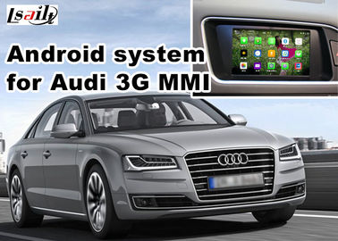 China Audi A8 Multimedia Video Interface LVDS RGB Video port with joy stick supplier