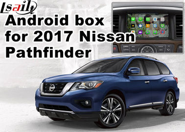 China Nissan Pathfinder Andorid Car Multimedia Navigation System , Online Navigation Video Play supplier