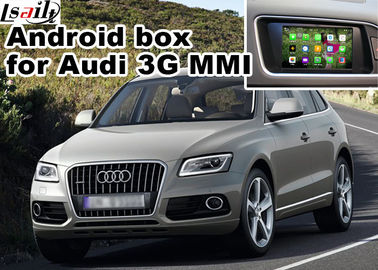 China 2010-2015 AUDI 3G MMI Multimedia Car Navigation System for A4 A6 A8 Q5 Q7 rear view cast screen supplier