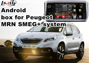 China Peugeot SMEG+ MRN GPS Navigation Box WiFi Android Car Navigation Video Interface supplier