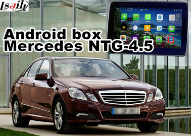 China Mercedes benz E class Automobile GPS Navigation Systems video interface supplier