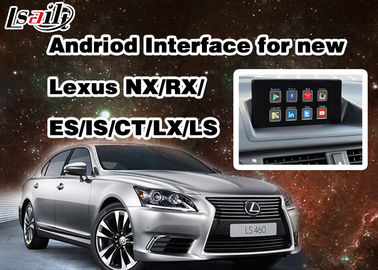 China Android 6.0 Lexus Video Interface for 2014 - 2017 RX / IS / ES / IS / NX / LX / LS with WIFI Network supplier