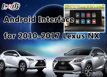China 4- Core GPS Navigation System Lexus Video Interface for 2014-2017 NX with Steering Wheel Control supplier