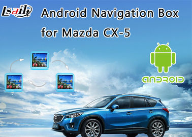 China 2014-2017 Mazda CX-5 Android 6.0 Interface Navigation Box with On line map (Google/waze) supplier