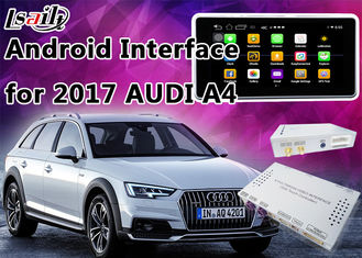 China 2017 AUDI A4 Andorid Navigation Multimedia Video Interface with Built-in Mirrorlink , WIFI , Parking Guide Line supplier