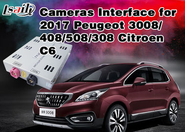 China Peugeot Reverse Camera Interface Integrate Video Source TV / Rear System ,  RoHS SGS , Active Parking Guideline supplier