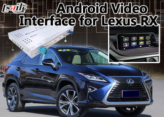 China RX 2012-2017 Android 6.0 Car Gps navigation video interface Automotive On Line Map supplier